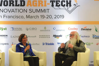 UC Davis Connects with Industry Leaders at World Agri-Tech Summit