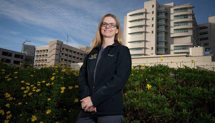 Heather Siefkes, assistant professor of pediatric critical care at UC Davis Children's Hospital